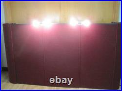 FEATHERLITE PANEL DISPLAY BOOTH PANEL TRADE SHOW EXHIBIT With CASE & LIGHT 306804