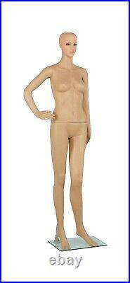 Female Full Body Display clothes model Window Showcase