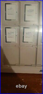 GAMEBOY ASCll Showcase System rare display for loose gameboy cartridges