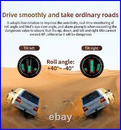 HUD GPS Slope Meter Head Up Display Car Speedometer MPH/KMH Digital Projector