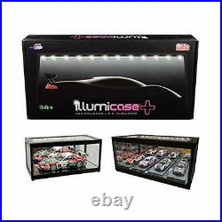 Illumibox Collectible Display Show Case Illumicase+ with LED Lights and Mirro