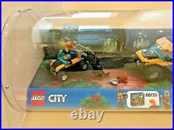 LEGO CITY JUNGLE EXPLORERS HALFTRACK MISSION Toy Shop Display Showcase No. 60159