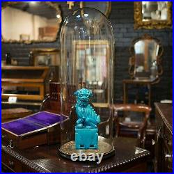 Large Antique Glass Display Dome, English, Taxidermy, Showcase, Victorian, 1900