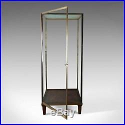 Large Display Case, Bronze, Museum Quality, Showcase, A. Edmonds & Co Mid C20th