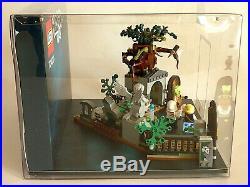 Lego 70420 Hidden Side Friedhof Display Showcase Category 1 Diorama Schaukasten
