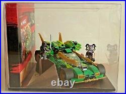 Lego 70641 Ninjago Display Showcase Schaukasten Lloyds Nachtflitzer Nightcrawler