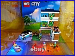 Lego City 60291 Modernes Familienhaus Display Showcase Schaukasten Diorama Neu