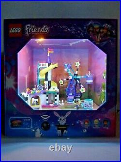 Lego Friends Magisches Riesenrad 41689 Display Showcase Schaukasten Diorama Neu