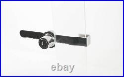 Lot of 50 Sliding Glass Door Ratchet Lock Showcase Display Jewelry Case Retail