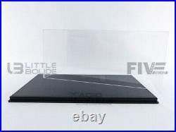 Luxcase 1/12 Display Case Show-case 1/12th Black Leather Lc12001a