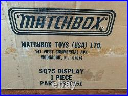 Matchbox Lesney Superfast Display Verkaufsturm Showcase Präsentationsständer OVP