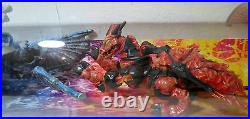 Mega Blocks Fire & Ice Dragons Show Case Masterpiece Display Only One Vhtf Rare