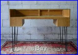 Mid Century Modern SHOWCASE Display Case Hairpin Legs