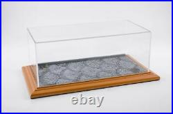 Model Car Scale 118 124 showcase Course Wood Box Display Show Case
