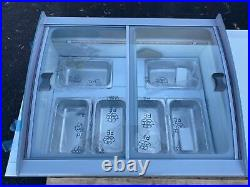 NEW 6 Pan Gelato Ice Cream Freezer Display Showcase Counter Top Server TG-108
