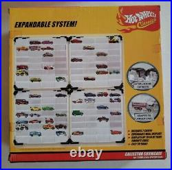 NEW Hot Wheels Classics Collector Showcase Wall Display (5 in all for 160 cars)