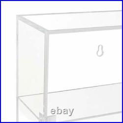NIUBEE Acrylic Display CaseClear Showcase Storage Organizer for Mini Funko Po