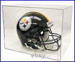 New BALLQUBE Full Size NFL Football HELMET HOLDER display cube qube showcase box