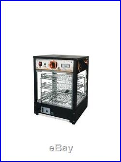 New Commercial Electric Counter Top Heated Display Smart Showcase