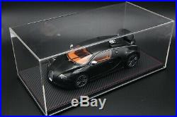 New Display case show case with leather base for 118 BBR MR Autoart Car model