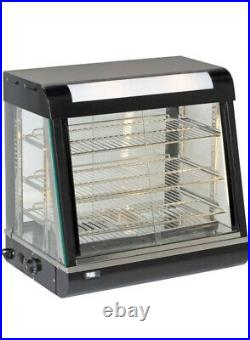 New Heated Display Cabinet/pie warmer Showcase-660mm Chicken Warmer Warmer