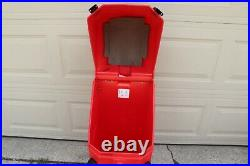 Nomadic Instand Display Protective Hard Plastic Travel Case Trade Show Case Red