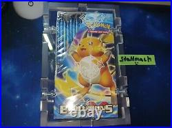 Original Pokemon Evolutions XY Display Sealed in Acrylglas