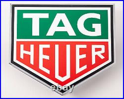Original Tag Heuer Two Sided Retail Store/Showcase Display Piece P117