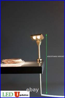 Pair Showcase LED light 8 4000k for display lighting + UL Power supply FY-37G
