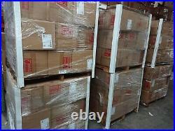 (Pallet of 60) Clear Acrylic Display Case 9.5 W x 9.5 D x 12 H Showcase Bulk