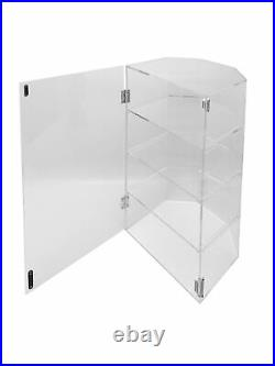 Plaxiglass Clear Acrylic 4 Tier Bakery Pastry Display Holder Showcase Rack Stand