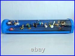 Playmobil 12 Figures Serie 13 Showcase Schaukasten Diorama Vitrine Display 9332