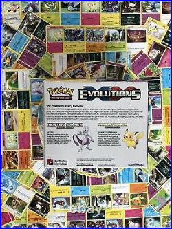 Pokemon Evolutions TCG XY 12 Theme Deck Display Case 8 Decks in Unopened Box