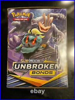 Pokemon Sun & Moon Unbroken Bonds Retail Display Box with96 (3) Card Booster Packs