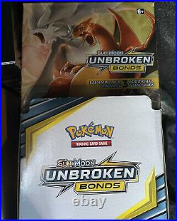 Pokemon UNBROKEN BONDS Display Mega Case with 96 cts (3 cards mini booster)