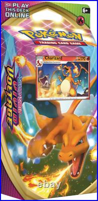 Pokemon Vivid Voltage Theme Deck Display Box Includes 4 Charizard / 4 Dredaw