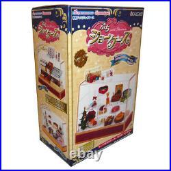 Rare 2006 Re-Ment Cake, Food Display Showcase Cabinet Part 1