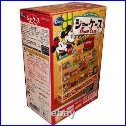 Rare 2011 Re-Ment Disney Cake, Bread, Food Display Showcase Cabinet Part 2