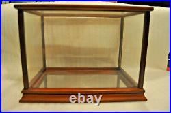 Rare Franklin Mint Glass Display Case Showcase Treasures 15x 10 1/4x 10 3/4
