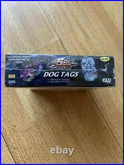 Rare Vintage Yugioh 5DS Dog Tags Display Box (12 Packs) Collector foil stickers