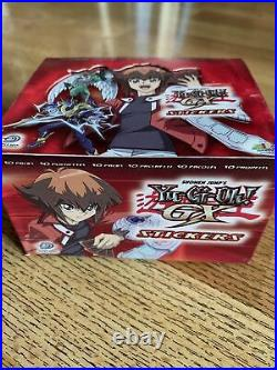 Rare Vintage Yugioh Gx Stickers 2004 Upper Deck Display Box (50packs) Collector