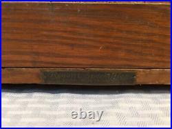 Rare W. R. Case & Son Pocket Knife Counter Top Display Showcase Antique 19th C
