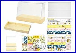 Re-Ment Miniature Sanrio Rilakkuma Display Cabinet Fridge Showcase Set Japan