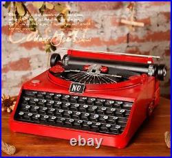 Retro Typewriter Vintage Showcase Type Writer Old Display Antique Decoration