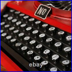 Retro Typewriter Vintage Showcase Type Writer Old Typer Display Decoration Gift