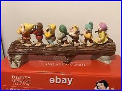 Royal Doulton Disney Heigh Ho Snow White Ltd Ed 208/1500 Never Displayed Mint