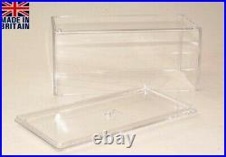 Showcase Displaybox Vitrine Acryl 1/43 48 Stück NEU