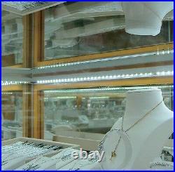 Showcase LED Lighting Light up Knife Display Case, Vintage Jewelry Case