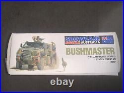 Showcase Models, 135 scale, Australian Bushmaster PMV, Display Model Kit #35001