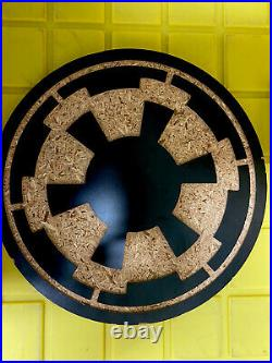 Star Wars IMPERIAL CREST Galactic Empire SITH SHOWCASE Custom Display Piece